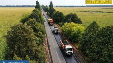 Photo of 40% ділянки дороги Р-67 Ніжин-Прилуки охоплені ремонтними роботами
