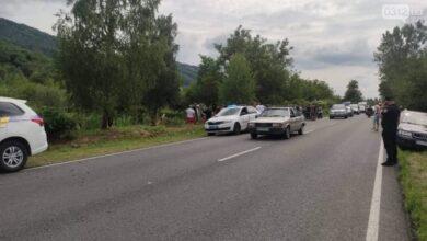 Photo of На Закарпатті авто впало у канаву з водою, є загиблий