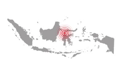 Photo of В Індонезії сталися два землетруси магнітудою майже у 7 балів