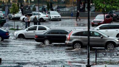 Photo of У Києві злива затопила та зупинила столицю, оголошено штормове попередження