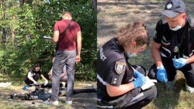 Photo of Спалювала кінцівки у лісі: у Києві жінка розчленувала співмешканця