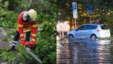 Photo of Затоплені вулиці та обірвані дроти: наслідки негоди у Дніпрі