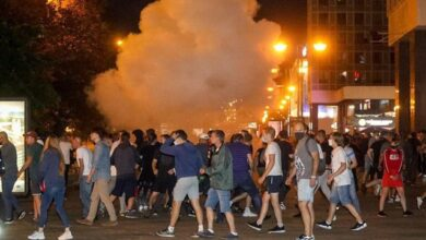 Photo of Протести в Білорусі: у Мінську почались сутички, ОМОН застосував світлошумові гранати