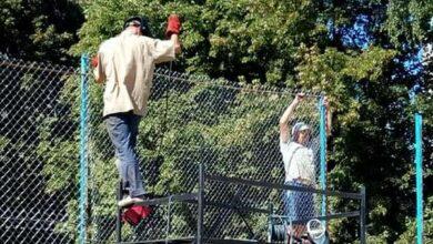 Photo of У Ніжині відновлюють спортивний майданчик по Об'іжджій. Фото