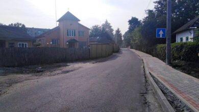 Photo of На вулиці Об'їжджій одна з ділянок дороги тепер з одностороннім рухом