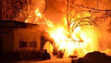 Photo of Подробиці пожежі на Ніжинщині, в якій згоріла дворічна дитина