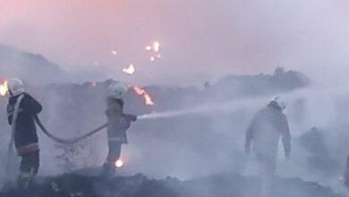 Photo of Під Полтавою другий день горить сміттєзвалище