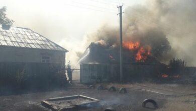 Photo of Пожежа у Харківській області знищила населений пункт