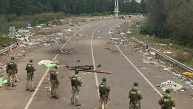Photo of Хасиди покинули кордон України та залишили за собою гори сміття