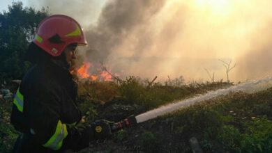 Photo of Дві пожежі за один день: у Ніжині горіло сміття