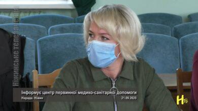 Photo of Інформує центр первинної медико-санітарної допомоги. Ніжин 21.09.2020
