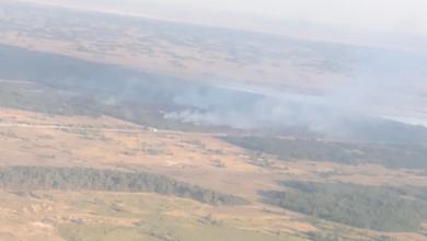 Photo of Лісову пожежу на військовому полігоні під Херсоном локалізовано