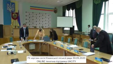Photo of 79 чергова сесія Ніжинської міської ради 30.09.2020 (ч. 2)