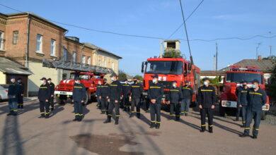 Photo of Як у Ніжині вітали рятівників. Фото
