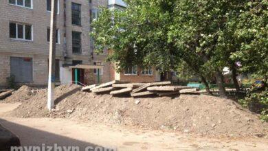 Photo of Розриті подвір'я і гори грунту: про ремонт тепломереж у Ніжині