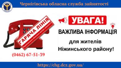 Photo of Ніжинська служба зайнятості знову працює у дистанційному режимі