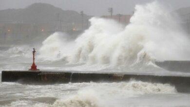 Photo of На Японію обрушився потужний тайфун Хайшен