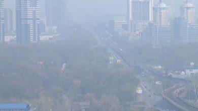 Photo of Через дим у Києві показники забрудненості повітря зросли до небезпечної норми