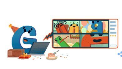 Photo of Google створив святковий дудл з нагоди свого 22-річчя