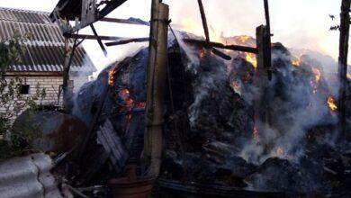Photo of На Житомирщині під час гасіння пожежі травмувався 7-річний хлопчик
