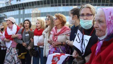 Photo of У Білорусі проходить жіночий марш, десятки учасниць затримані