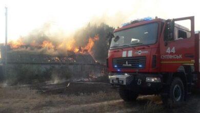 Photo of Пожежі на Харківщині та Луганщині: горить 400 га лісу, знищено 8 будинків