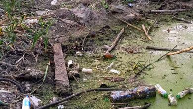 Photo of Екологічна катастрофа у центрі Ніжина: висохло озеро, оголивши купи сміття