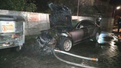 Photo of У Рівному підпалили автомобіль кандидата в облраду