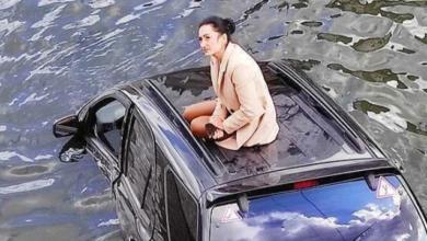 Photo of Вилізла на дах і чекала рятувальників: у Харкові дівчина на Kia злетіла у річку