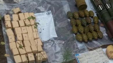 Photo of Вибухівка і гранатомети: на кордоні з Білоруссю знайшли схрон зброї