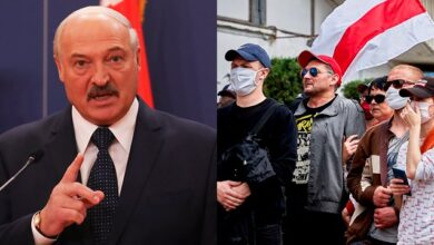 Photo of Лукашенко звинуватив протестувальників у зростанні випадків Covid-19 в Білорусі