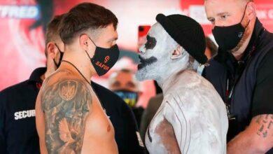 Photo of Усик – Чісора: як пройшла процедура зважування боксерів та дуель поглядів