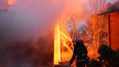 Photo of Учора в Ніжині горіла господарча будівля