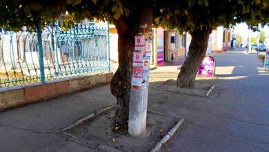 Photo of Ніжин заклеєний незаконною рекламою