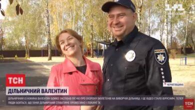 Photo of Ніжинського дільничого Валіка тепер знає вся Україна. Відео