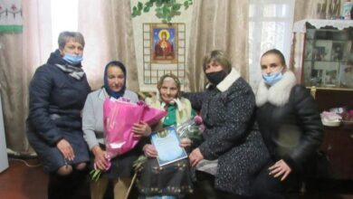 Photo of 100-річний ювілей святкує жителька Ніжинщини