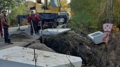 Photo of На Ніжинщині оновлюють відрізок автошляху між селами Леонідівка та Галиця