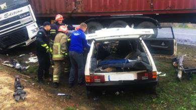 Photo of На Черкащині вантажівка розтрощила легковик: загиблого випилювали рятувальники