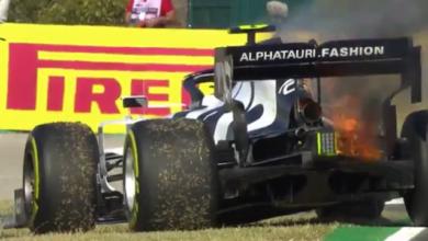 Photo of Болід гонщика Формули-1 загорівся під час руху – як пілоту вдалося врятуватися