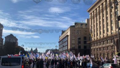 Photo of Протестувальники знову перекрили Хрещатик: Київ зупинився у заторах (КАРТА)