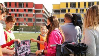 Photo of У Києві провели тренування для дітей з особливостями розвитку