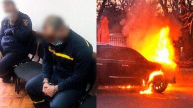 Photo of В Одесі пожежник спалював елітні авто на замовлення