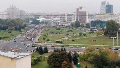 Photo of У Мінську виникла бійка між протестувальниками і ОМОНом – силовики застосували газ