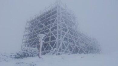 Photo of У Карпатах випав сніг, температура опустилася до -4°С