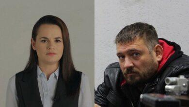 Photo of Ми тебе любимо: Тихановська вперше за 4 місяці поговорила з чоловіком