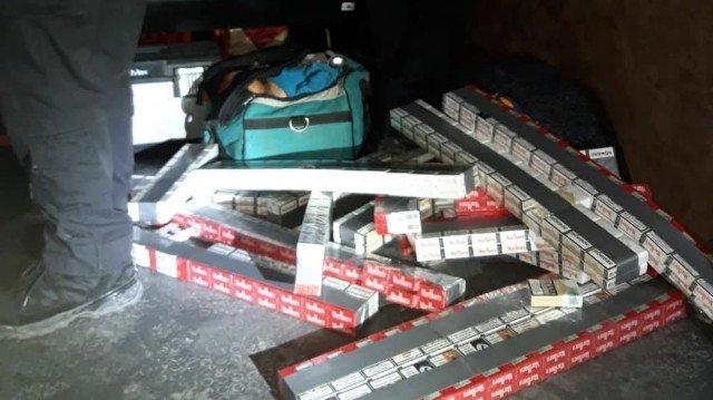 Контрабанда сигарет – як покарали українця на кордоні (фото)