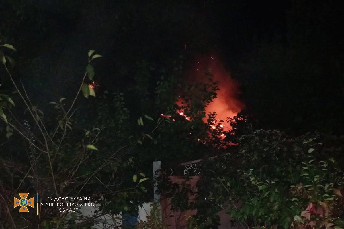 Пожежа в Дніпропетровській області – подробиці пожежі в будинку (ФОТО)