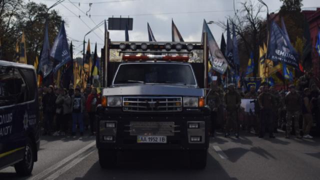 У Києві розпочався Марш нації до Дня захисників і захисниць (ФОТО, ВІДЕО)