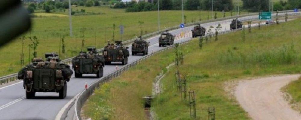 Військові НАТО відпрацювали напад Росії на країни Балтії